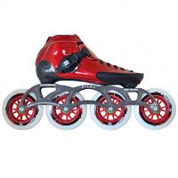 Luigino Strut Striker Mark2 Red Skate