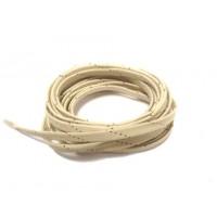 Viking Wax Laces Beige